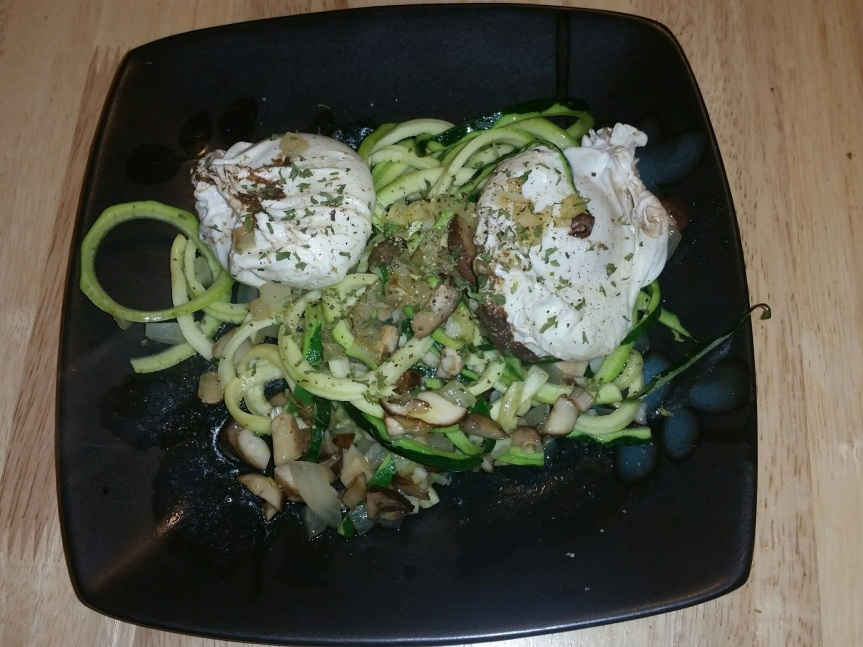 Egg and zoodles 1