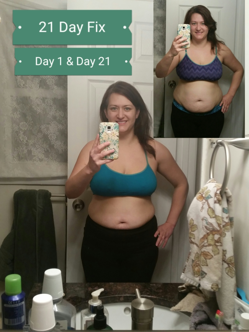 My success with 21 Day Fix: Round 1